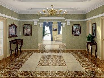 Infinity Ceramic Tiles - Emperador