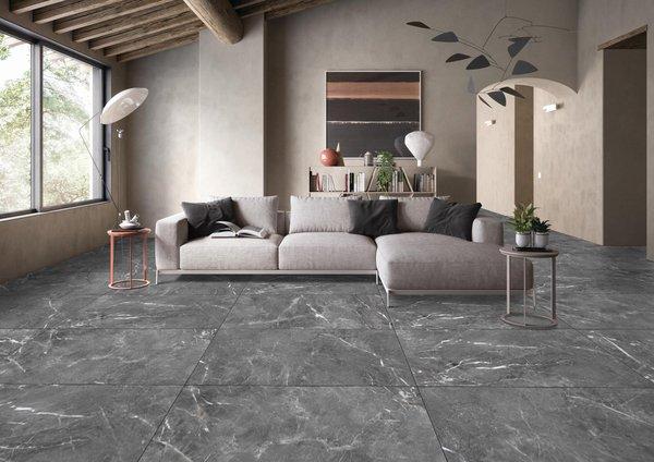 Italica Tiles - Shadow Dark Grey
