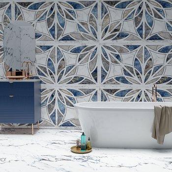 Qua Granite - Floreale Dekor
