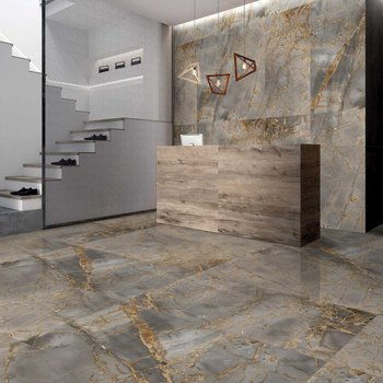 Italica Tiles - Reflection Gold