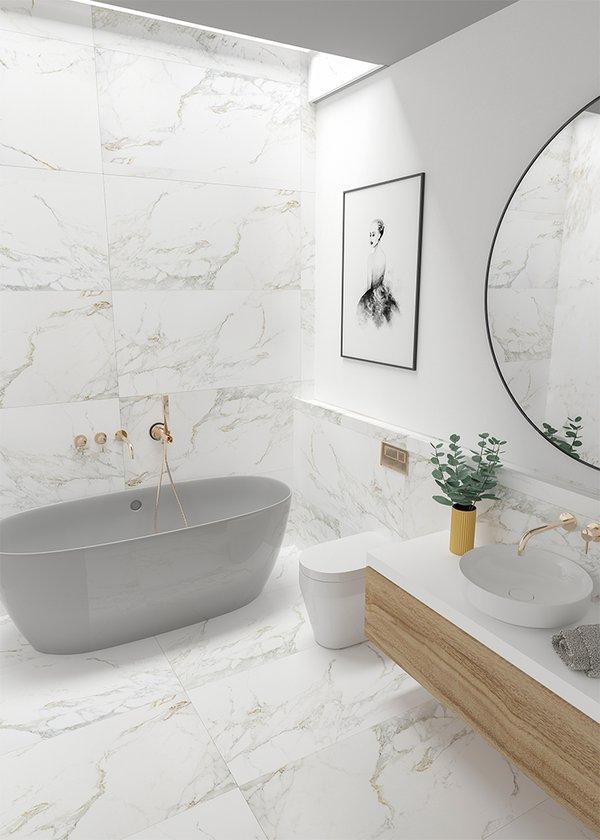 Qua Granite - Creme Blanc